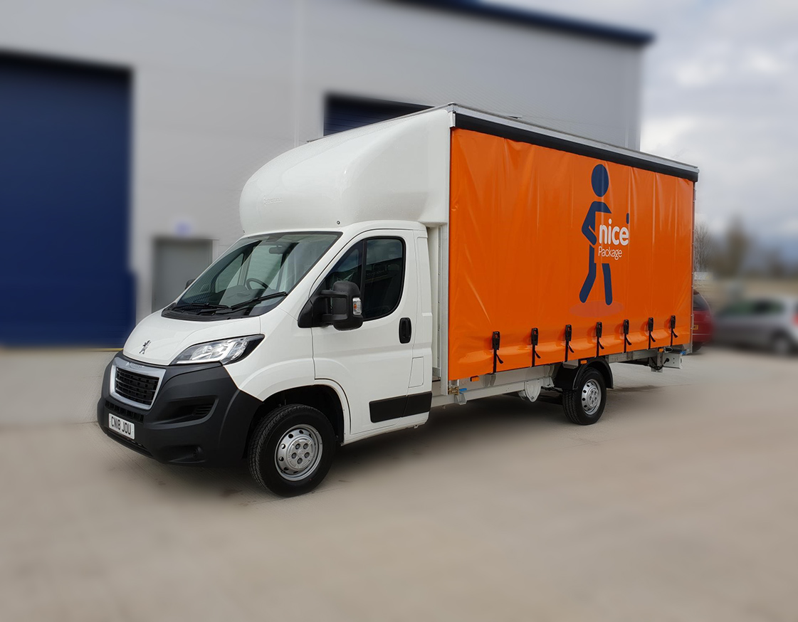 Yeovil Packaging Company Delivery Truck